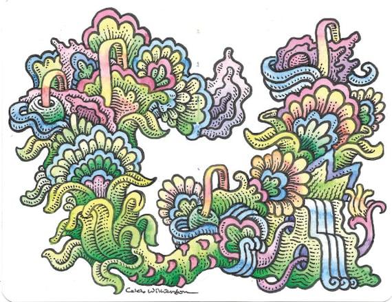 WC Sketchbook Page 3