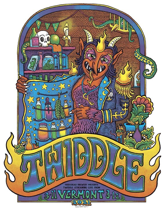Twiddle Live from VT 2021
