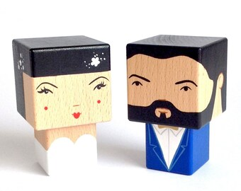 """Cubic Woodendoll """"married couple"""""""