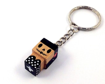 Cubic Key ring Calavera