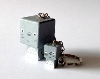 "Cubic Key ring ""Totoro"""