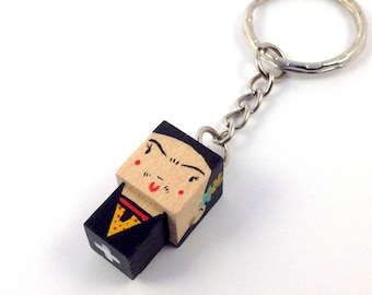 "Cubic Key ring ""Frida Kahlo"""