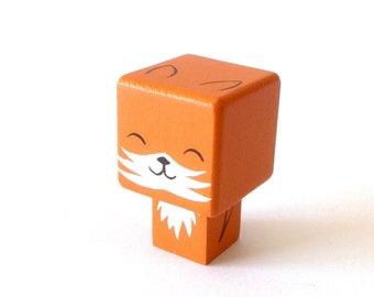 "Magnet figurine cubic ""Fox"""