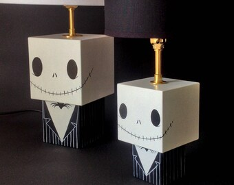 "Small lamp cubic figurine ""Jack"""