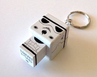 "cubic Key ring ""Stormtrooper"""