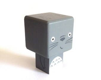 "Cubic figurine ""Yoda"" magnet"