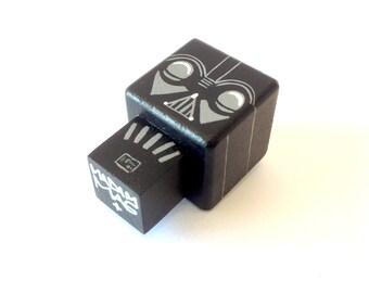 "Cubic figurine ""Dark"" magnet"
