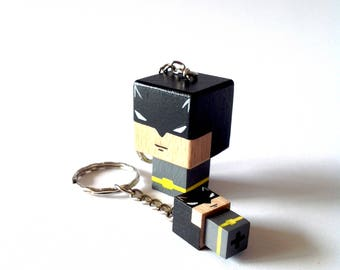 "Cubic Key ring ""Batman"""
