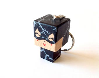 "Cubic Key ring ""Catwoman"""