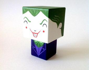 """Cubic figurine villain """"Joker"""""""