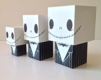 "Cubic figurine wooden decorative ""Jack"""