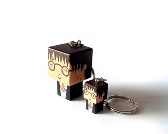 "Cubic Key ring ""Harry"""