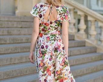 b29bea24558b7 Floral maxi dress