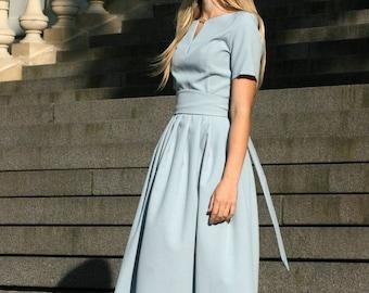 Plus Size Maxi Dress, Women Dress, Gray Dress, Short Sleeved Dress, Boho Maxi Dress, Women Kaftan Dress, Minimalist Dress, Fashion Dress