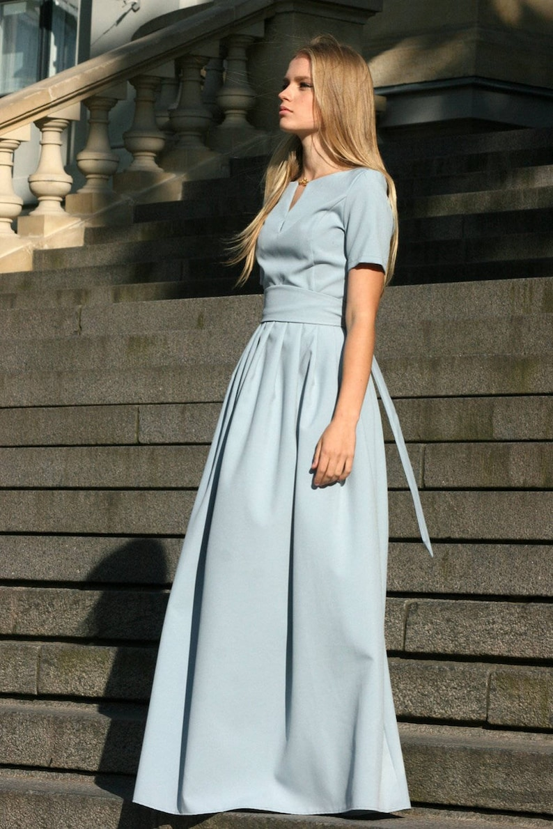 Plus Size Maxi Dress Boho Maxi Dress Women Dress Gray | Etsy