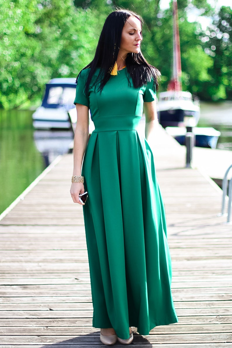 61fcd6452c89 Plus Size Maxi Dress Khaki Dress Elegant Summer Dress