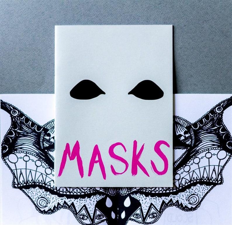 Art Zine  'Masks' image 0
