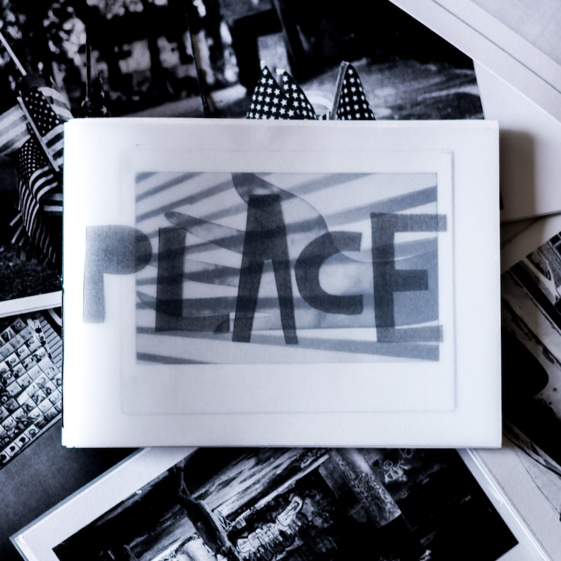 Art Zine  'Place'  Zine / Artists Book featuring image 0