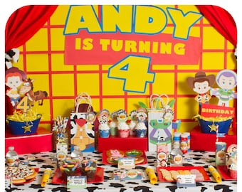 Toy Story; Toy Story Party; Toy Story Birthday Party; Toy Story Birthday; Toy Story; Toy Story Party ideas; Toy Story PDF party