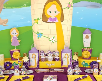 Tangled Party Birthday Package Rapunzel Decor Ideas