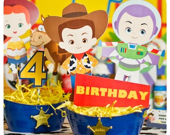 Toy Story; Toy Story Party; Toy Story Birthday Party; Toy Story Birthday; Toy Story Birthday Party; Toy Story Centerpieces