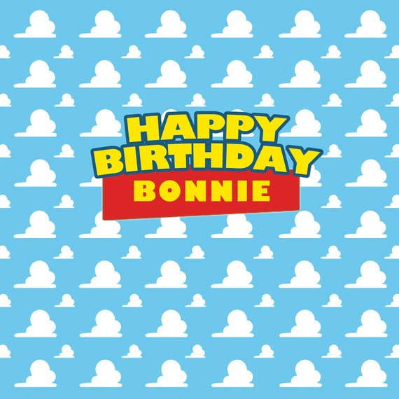 Happy Birthday Toy Story Font