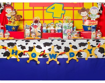 Toy Story; Toy Story Party; Toy Story Birthday Party; Toy Story Birthday; Toy Story Birthday Party; Toy Story Garland Banner