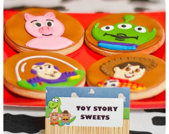 Toy Story; Toy Story Party; Toy Story Birthday Party; Toy Story Birthday; Toy Story Birthday Party; Toy Story Food Labels; Food Tents