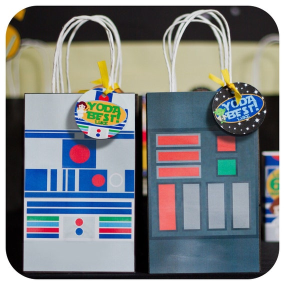 Star Wars Gift Bags Birthday