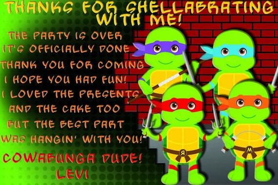 Tmnt Teenage Mutant Ninja Turtles Birthday Teenage Mutant Ninja