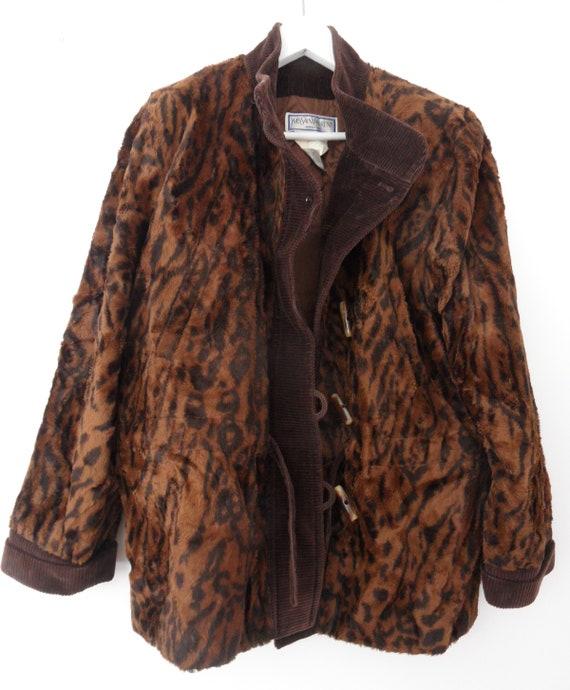 Vintage Yves St Laurent jacket,YSL animal print ja