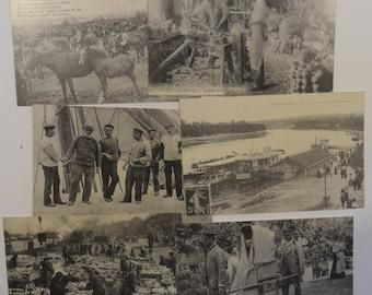 vintage French postcards,vintage postcards,postcard memorabilia,French life postcards,French postcard collection,postcard memorabilia