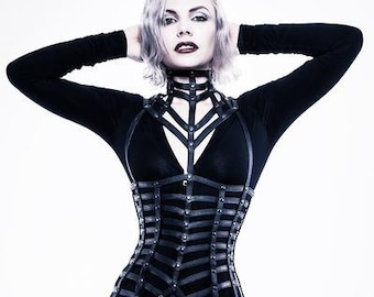 Tracer Cage Harness Dress