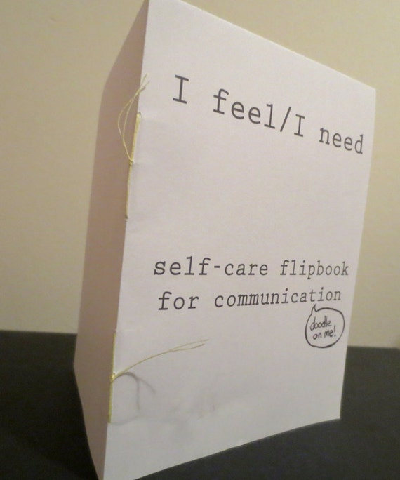 PDF TEMPLATE I Feel I Need Self Care Flipbook Etsy