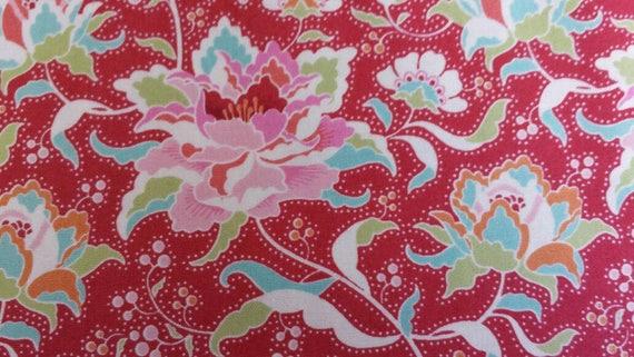 Tilda Circus Fabric Half yard Rose Red FREE POST