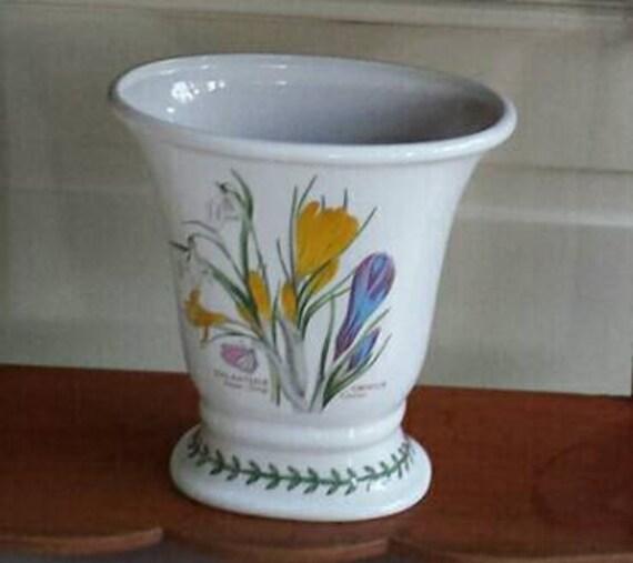 Large Vase The Botanic Garden By Portmeirion Height 185 Cm Etsy