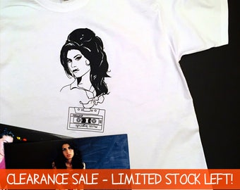 Music Legends: Amy Winehouse T Shirt