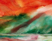 Alcohol Ink Art.   Alcoho...