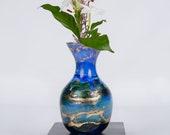 Bud Vase Hand Painted