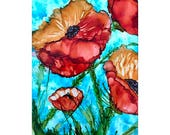 Alcohol Ink Art.  Alcohol...