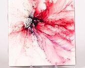 Ceramic Passion Flower Coaster