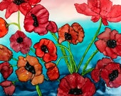 Alcohol Ink Art.  ORIGINA...
