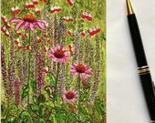 Holiday Sale Note Card, Flower Garden