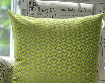 GREEN Color Decorative pillow cover 20x20 VitaLee pillows Collection