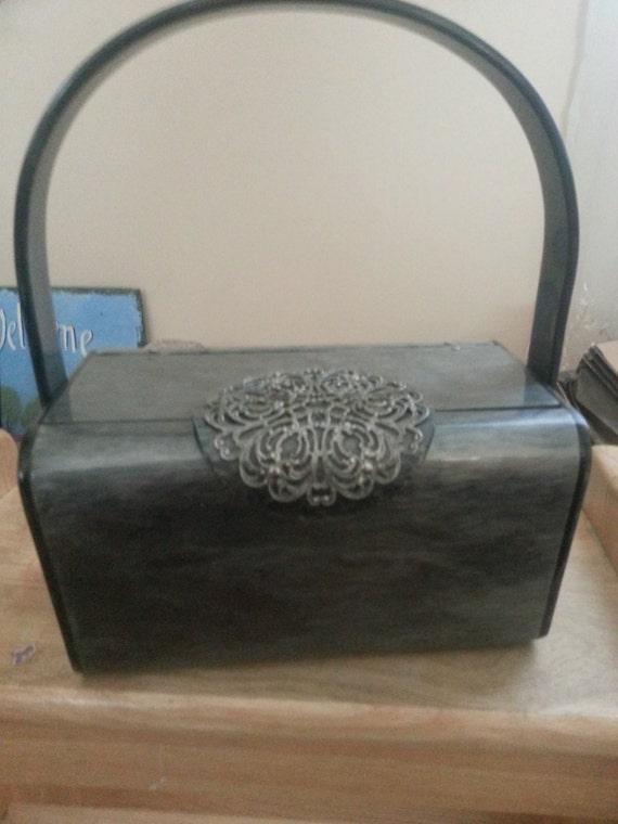 Vintage Wilardy Lucite Purse