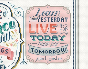 Charity SAL for Mind - Release 4 of 9  Cross Stitch Pattern (Digital Format - PDF)