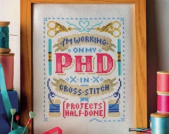 PHD (Projects Half Done) - Cross Stitch Pattern (Digital Format - PDF)