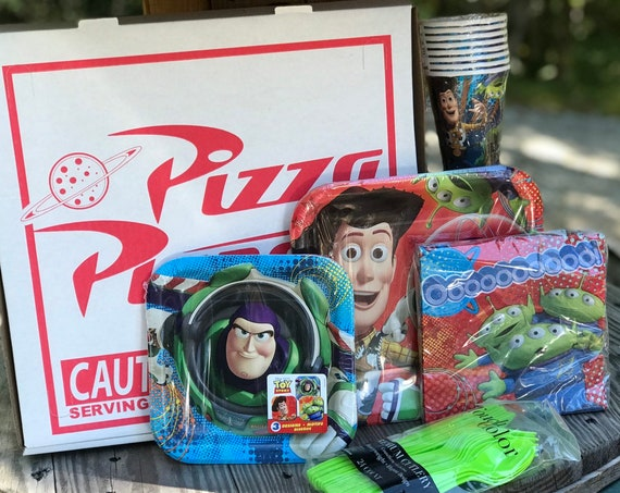 Toy Story Pizza Planet Party Kit