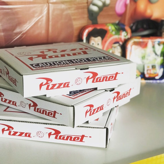 Toy Story Pizza Planet Label Digital Download