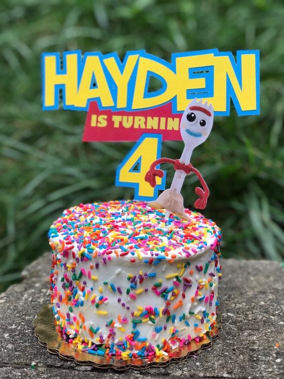 Toy Story Birthday Cake Topper Decoration